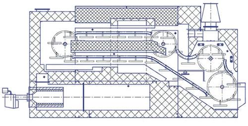 Печь тупиковая Г4-ХПФ-12С